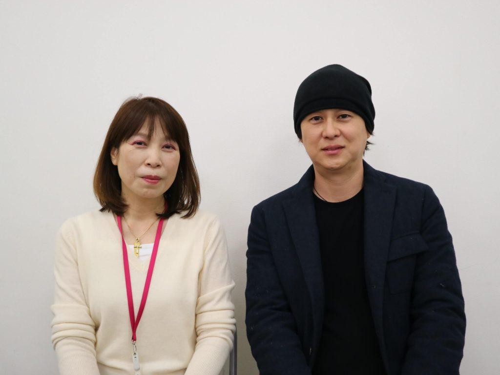 中西氏と大神氏インタビューありがとうございます